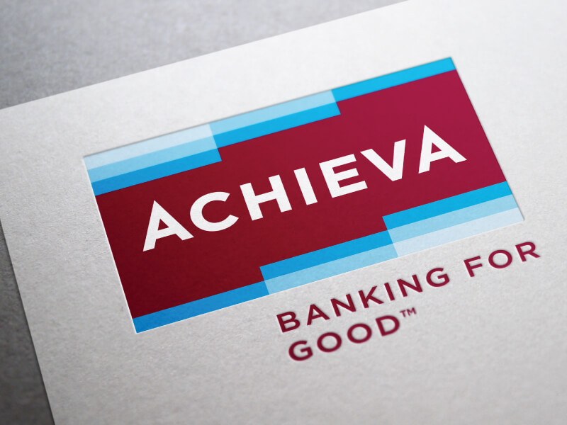banking financial services branding case study achieva