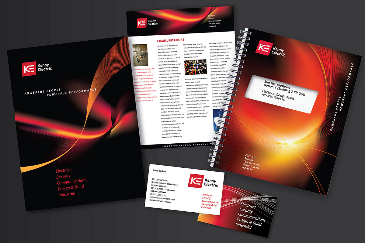 advertising  and marketing collateral design